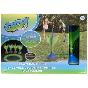 Lawn Darts Glow in the Dark Outdoor Play Product Image - Calendar Club