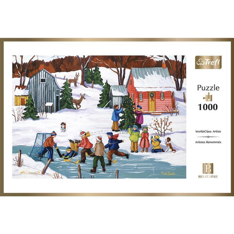 061152247262 Christmas Holidays  Canadian Artist prepack unit Trefl - Calendar Club1