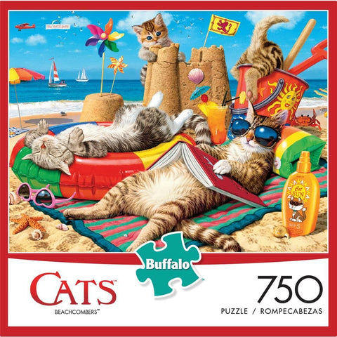 Cats of Wysocki Assorted 750 Pc Puzzle  Assortment - Each Sold Separately