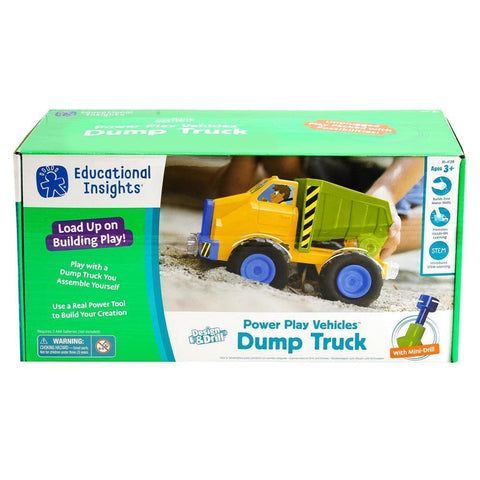 Design and Drill Power Play Vehicles Dump Truck