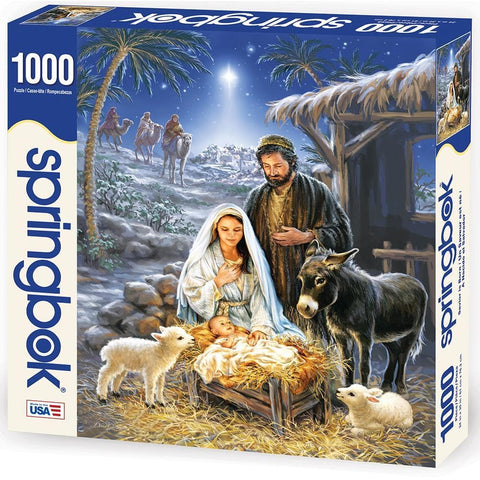 Savior is Born Christian Puzzle 1000 Piece