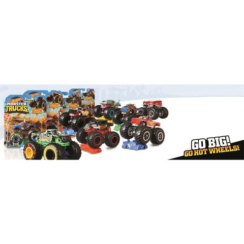 Hot Wheels Monster Truck Interior Product Image