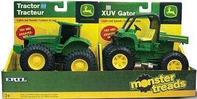 John Deere Monster Treads Lights - Sounds Vehicle - Calendar Club of Canada