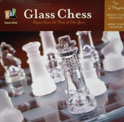 Glass Chess Set - Calendar Club of Canada