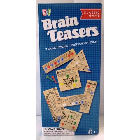 BrainTeasers Set Wood