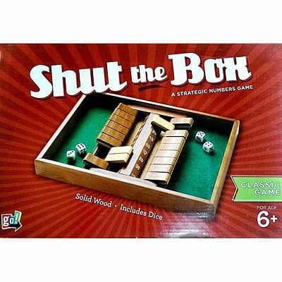 Shut the Box Double Sided - Calendar Club of Canada