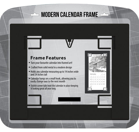 Black Modern Metal Frame - Calendar Club of Canada - 1