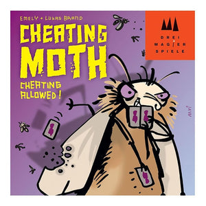 4001504871444 Cheating Moth Schmidt Games - Calendar Club1