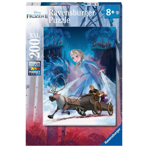 Mysterious Forest Disney Frozen 2 Puzzle 200 Piece Package Image
