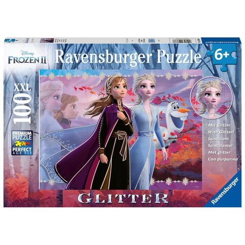 Strong Sisters Disney Frozen 2 Puzzle 100 Piece Package Image