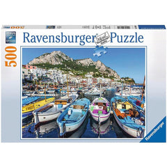 Colorful Marina Nature Puzzle 500 Piece
