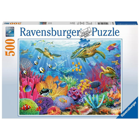 Tropical Waters Ocean Puzzle 500 Piece Package Image