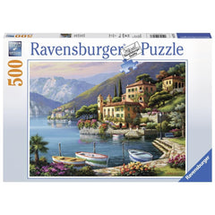 Villa Bella Vista Scenic Puzzle 500 Piece Package Image