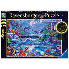 Moonlit Magic Scenic Puzzle 500 Piece Package Image