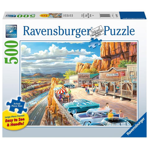 Scenic Overlook Nature Puzzle 500 Piece Package Image