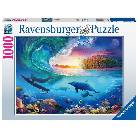 Catch a Wave Ocean Puzzle 1000 Piece Package Image