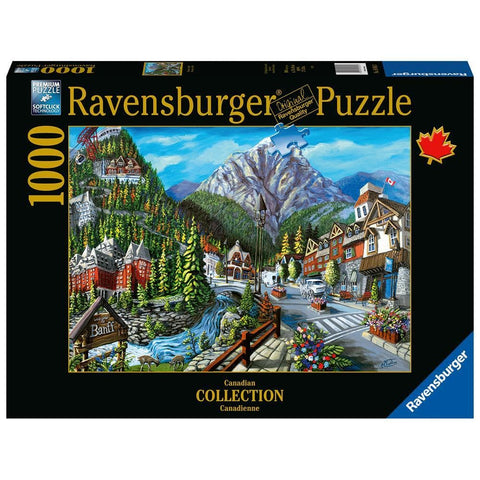 Welcome to Banff Scenic Puzzle 1000 Piece Package Image