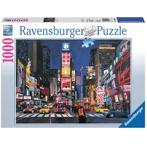 Times Square NYC Travel Puzzle 1000 Piece - Online Exclusive