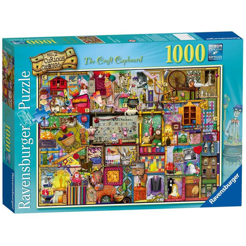 The Craft Cupboard Collection Puzzle 1000 Piece Package Image