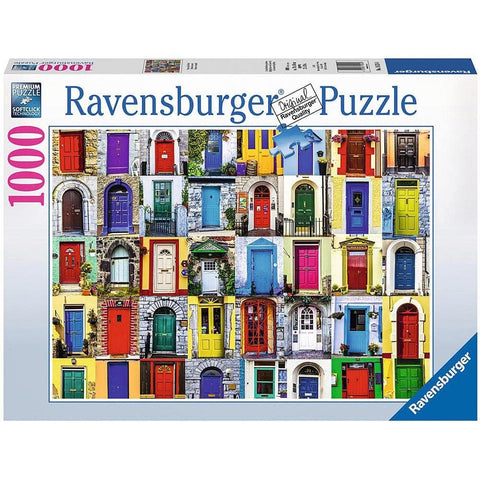 Doors of the World Puzzle 1000 Piece