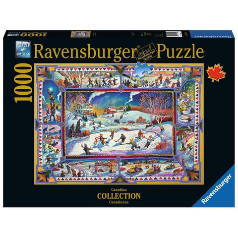 4005556197590 Canadian Winter prepack item Ravensburger - Calendar Club1