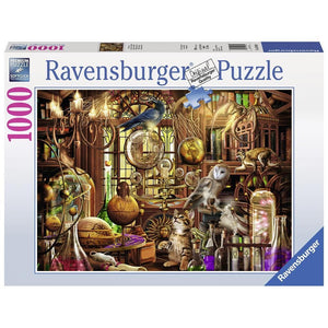 Merlins Laboratory 1000 pc Puzzle Front Product Image