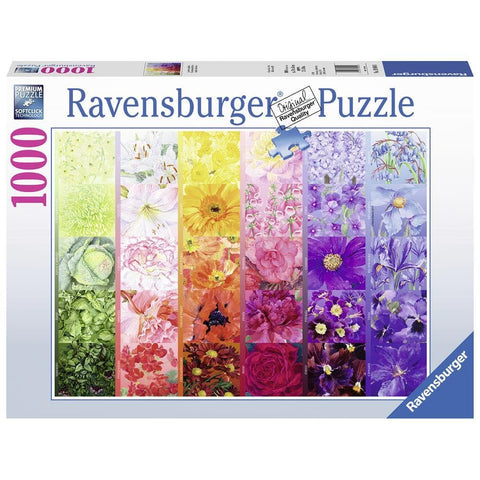 The Gardeners Palette No 1 Colour Puzzle 1000 Piece Package Image