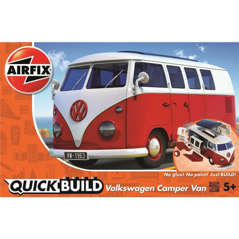 5055286642289 Airfix VW Camper Van Quick Build LiteHawk - Calendar Club1
