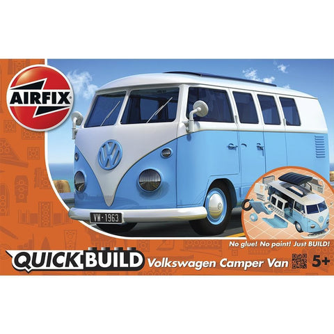 Airfix VW Camper Van Building Kit Product Packaging Image