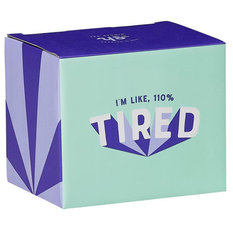 5055923746349 110 Tired Mug Wild and Wolf - Calendar Club1