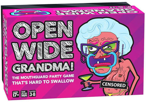 Open Wide Grandma