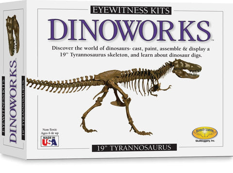 Eyewitness Kits Dinoworks T Rex - Calendar Club of Canada