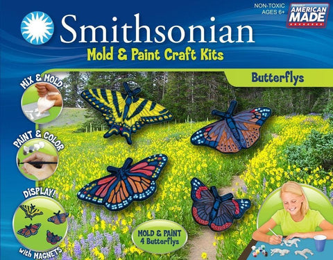 Butterflies Mold and Paint