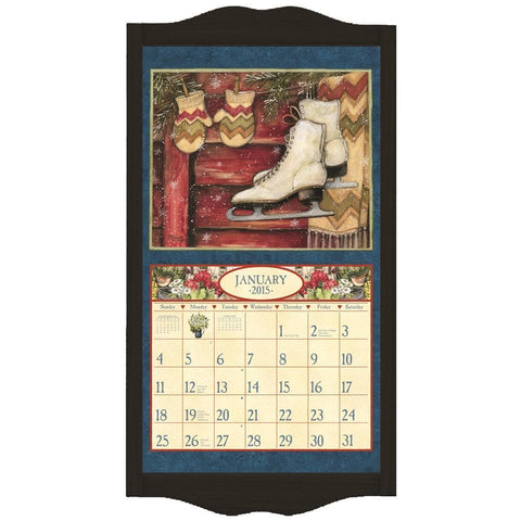 Black Wooden Calendar Frame - Online Exclusive
