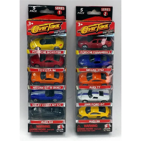 Licensed Die Cast 5pk