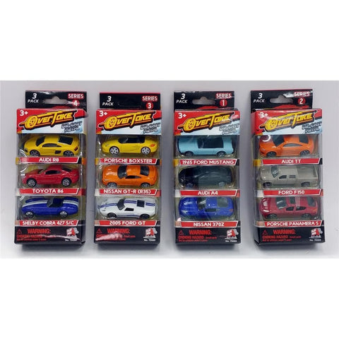 Licensed Die Cast 3pk