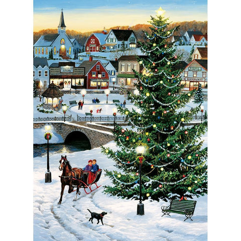 Village Tree 1000 Pc Puzzle