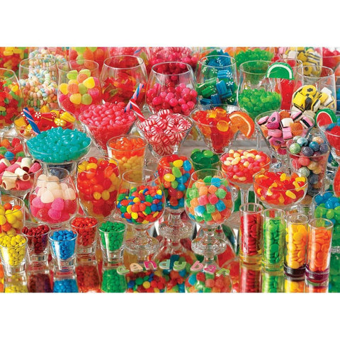 Candy Bar Food Puzzle 1000 Piece