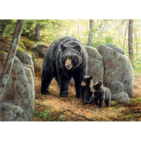 Mama Bear Nature Puzzle 1000 Piece