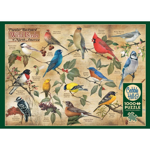 Wild Birds Animal Puzzle 1000 Piece