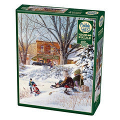 Getting Ready Winter Puzzle 1000 Piece