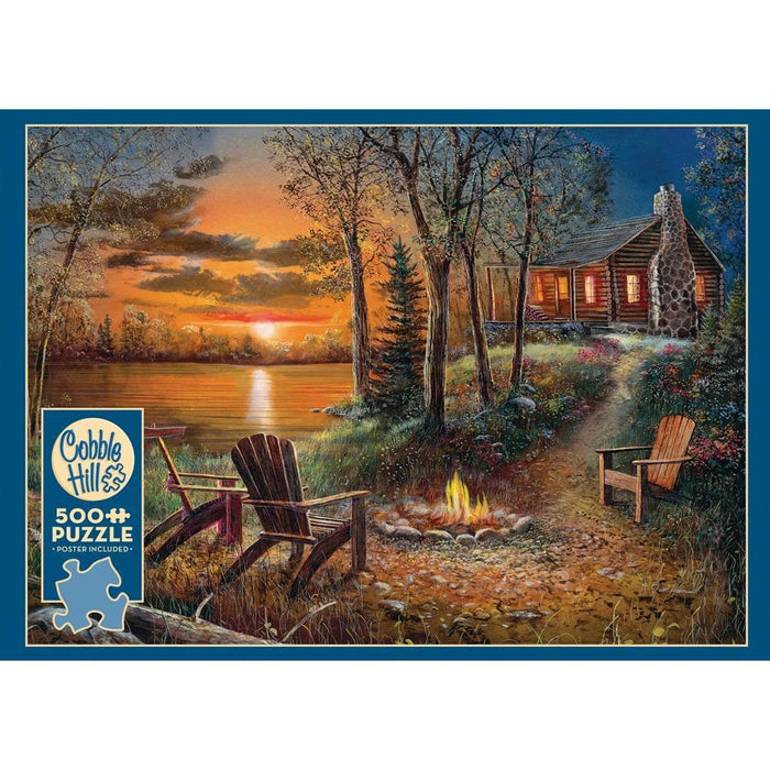 Fireside Scenic Puzzle 500 Piece