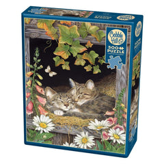 Kitten Sisters Animal Puzzle 500 Piece