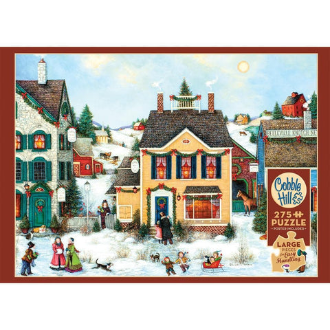 625012880022 Christmas Town Cobble Hill - Calendar Club1