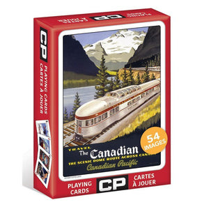 Canadian Pacific Playing Cards prepack item Product Packaging  Image