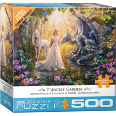 Princess Garden Fantasy Puzzle 500 piece