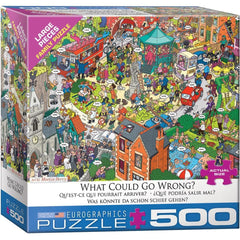 What Could Go Wrong Family Puzzle 500 Piece