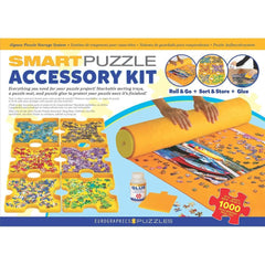 Smart Puzzle 3 Pack Accessory Kit Storage Solution