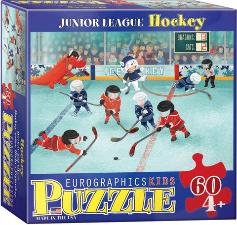 Junior League Hockey 60 pc Puzzle