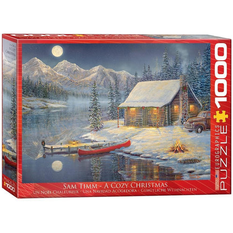 628136606080 Cozy Christmas prepack item Eurographics - Calendar Club1